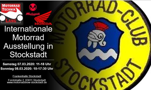 Internationale Motorradausstellung Stockstadt