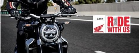 Motorrad Termin Frauen am Lenker - Honda Ride With Us