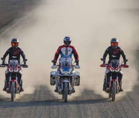 Africa Twin Training - Session 2