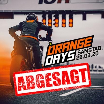 KTM ORANGE DAYS KTM ORANGE DAYS 2020 am 28. März 2020Beste Voraussetzungen für einen READY TO RACE Saisonstart! Erlebe brandheiße KTM Modellneuheiten, einmalige Sa...
