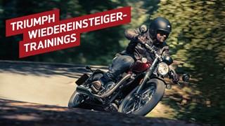 Motorrad Termin Triumph Wiedereinsteigertraining