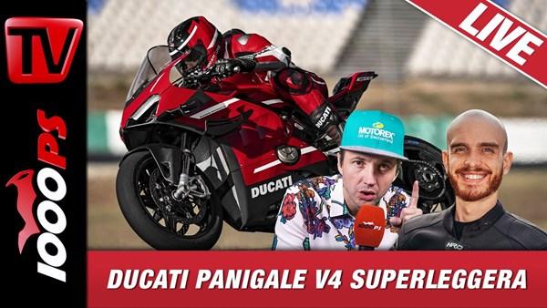 Ducati Panigale V4 Superleggera 2020 - 1000PS Live Die Motorradtalkshow