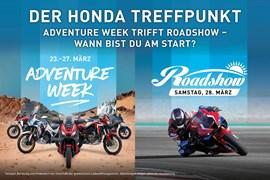 Motorrad Termin Honda Roadshow 2020 am 28.03.2020