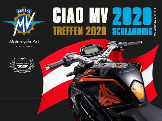 "Motorrad Termin MV Agusta Treffen 2020 ""Ciao MV"""