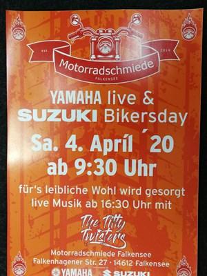 Motorrad Termin Bikersday 2020 - fällt aus!