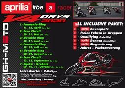 Motorrad Termin Aprilia V4 race days 2020