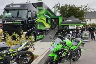 Kawasaki Roadshow bei uns in Lörrach