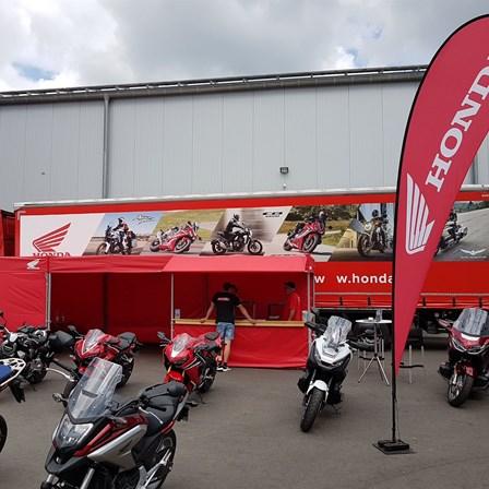 Honda Semmler- Honda Probefahrt Truck in Herborn !
