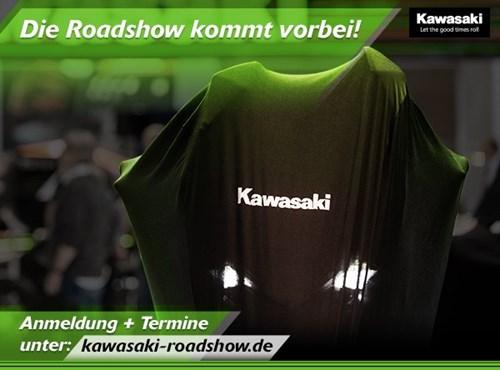 KAWASAKI Roadshow mit den aktuellen 2021er Modellen am 23. Januar 2021 bei uns!