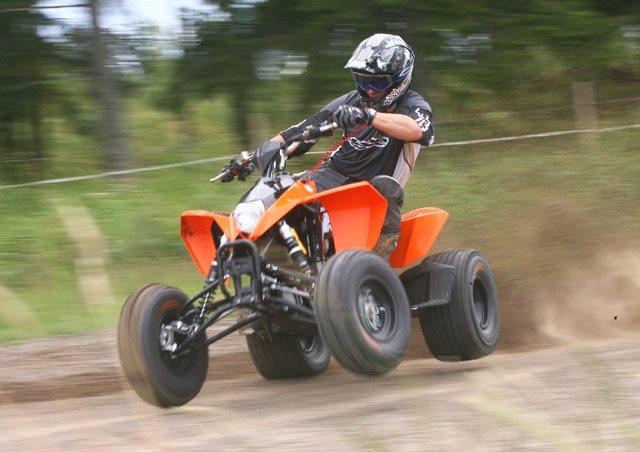2008 KTM 525 XC ATV in Alamo, CA