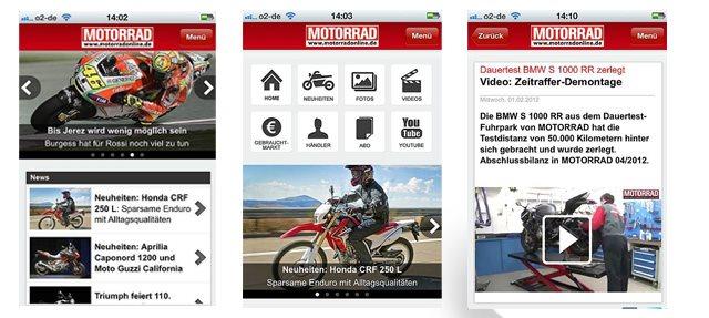 motorrad app motorrad news. Black Bedroom Furniture Sets. Home Design Ideas