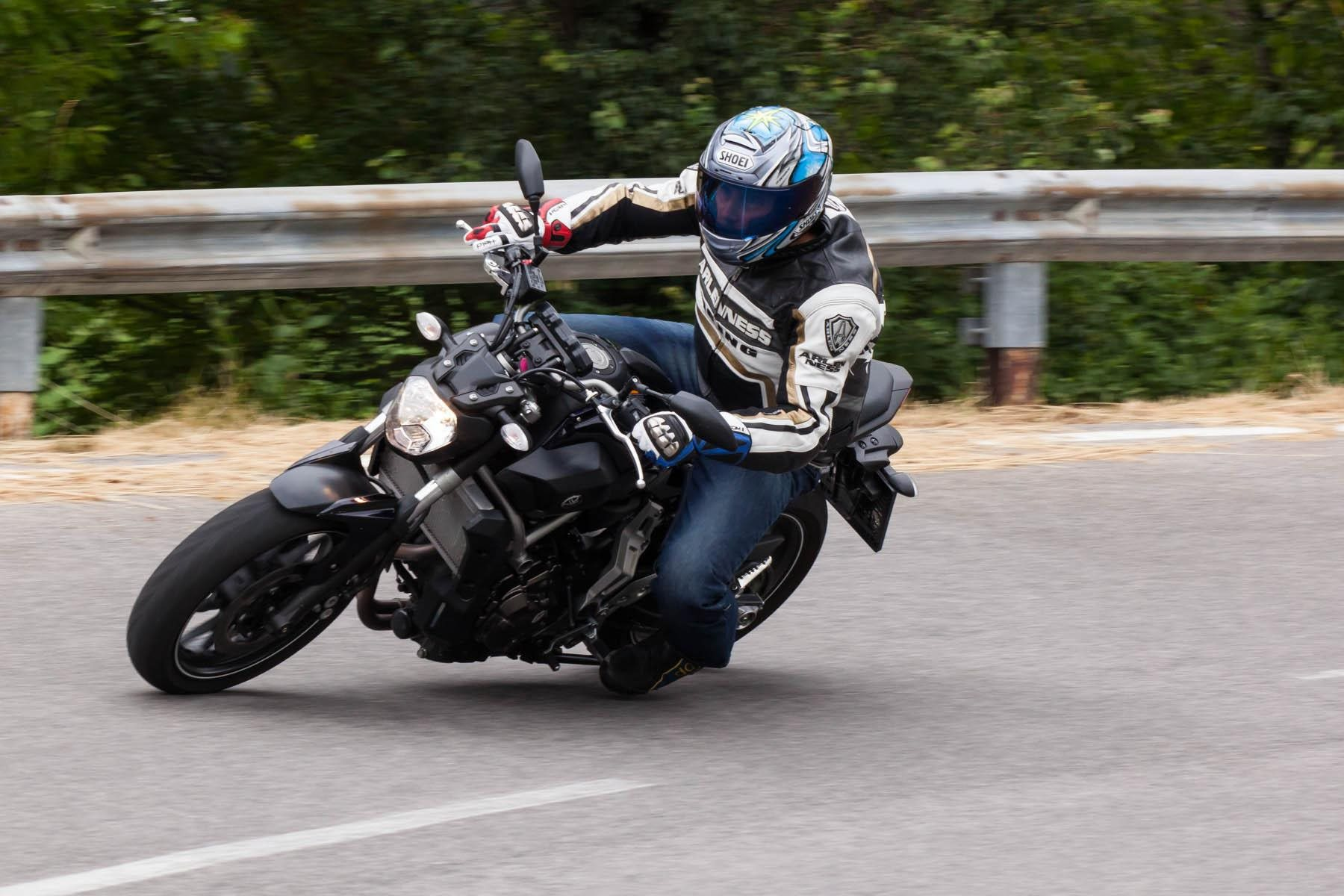 Yamaha MT-07 2014 Test Foto