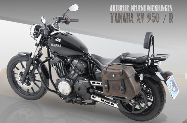 motorrad news hepco becker zubeh r f r die yamaha xv 950. Black Bedroom Furniture Sets. Home Design Ideas