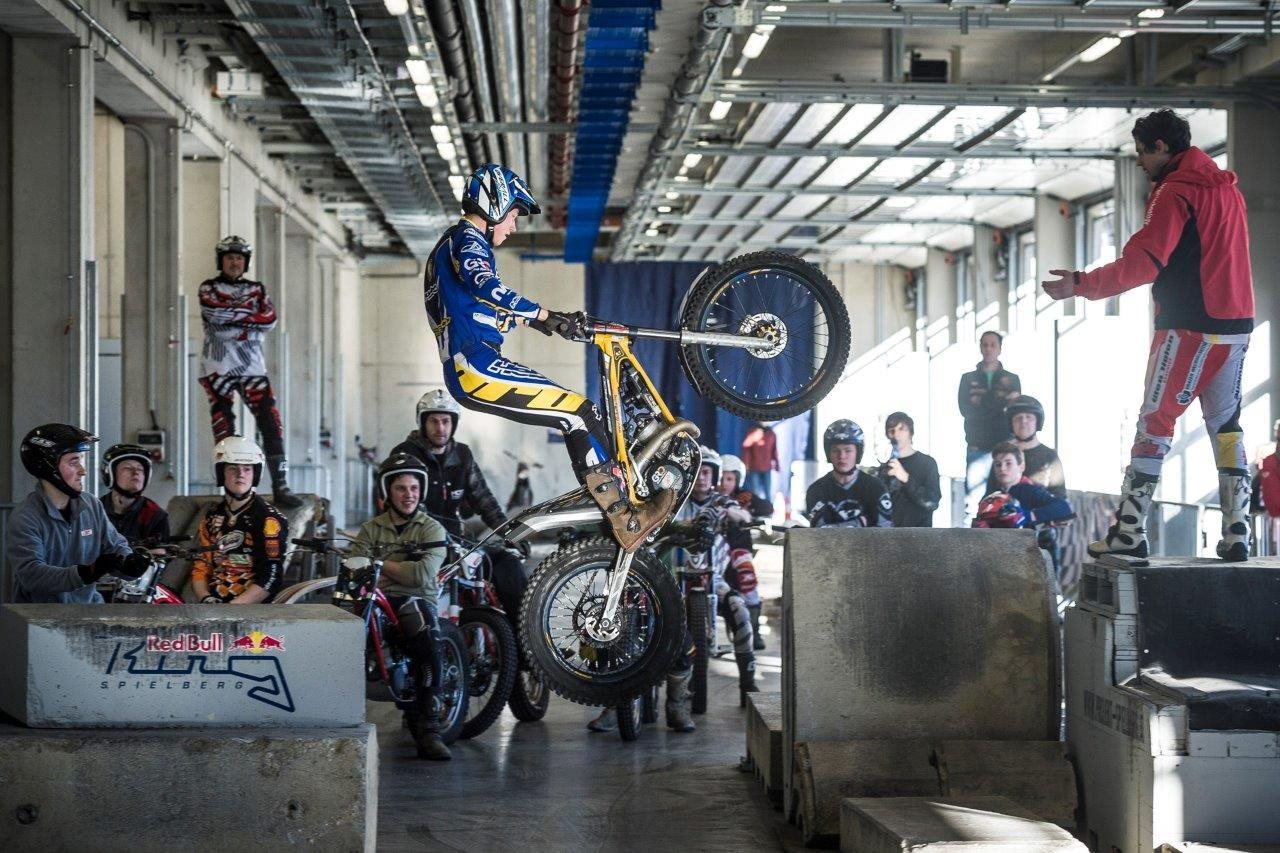 Indoor-Trial am Red Bull Ring Foto