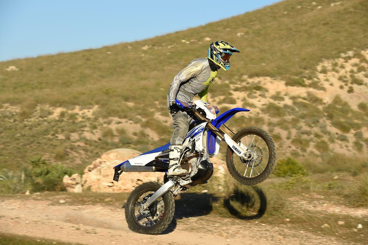 testbericht yamaha wr 450 f 2016 test. Black Bedroom Furniture Sets. Home Design Ideas