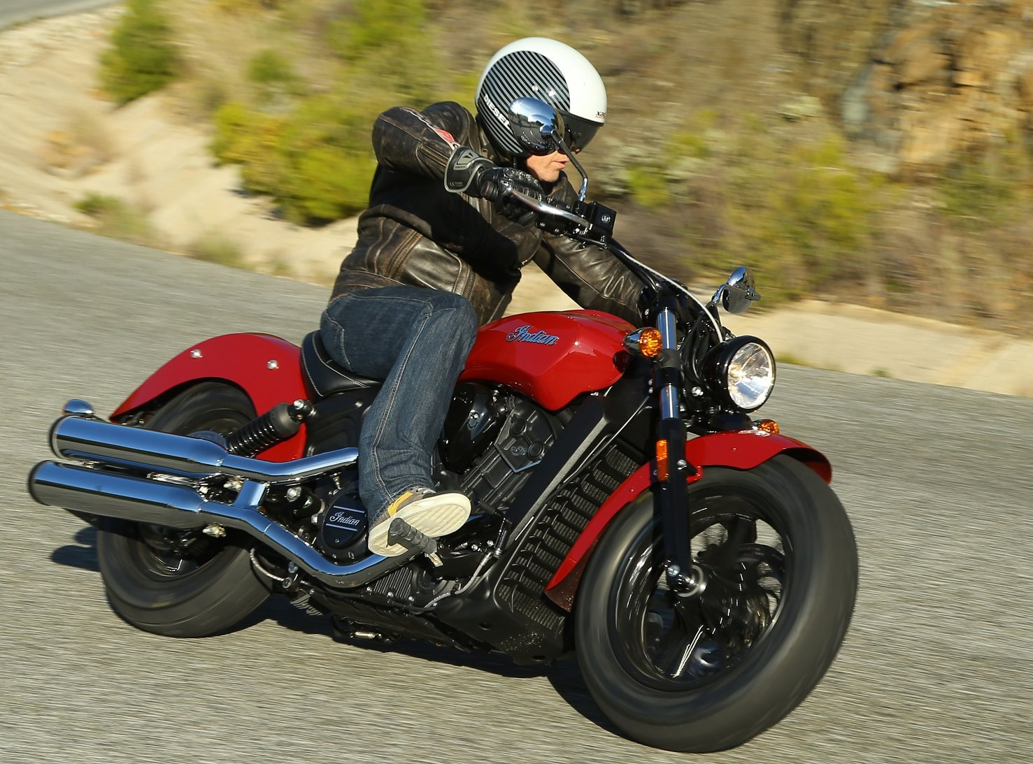 Indian Scout Sixty Test Foto