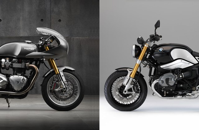 Triumph Thruxton Vs Ducati Monster