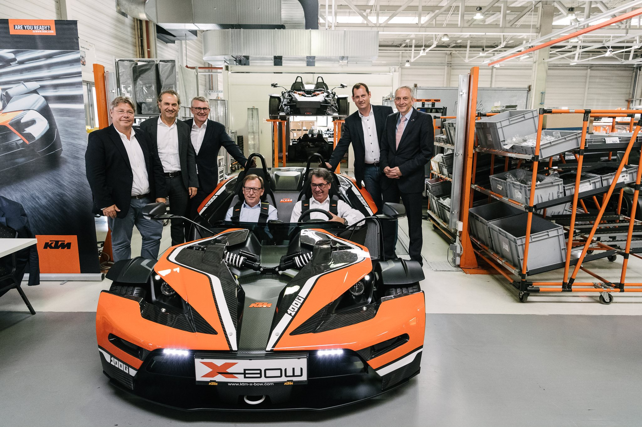 fertigstellung des ktm x bow motorrad news. Black Bedroom Furniture Sets. Home Design Ideas