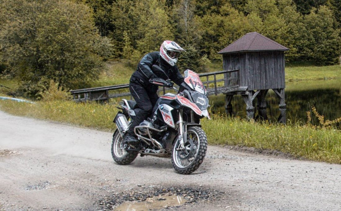 Schottertour: BMW R 1200 GS Test  2016 mit Video Foto