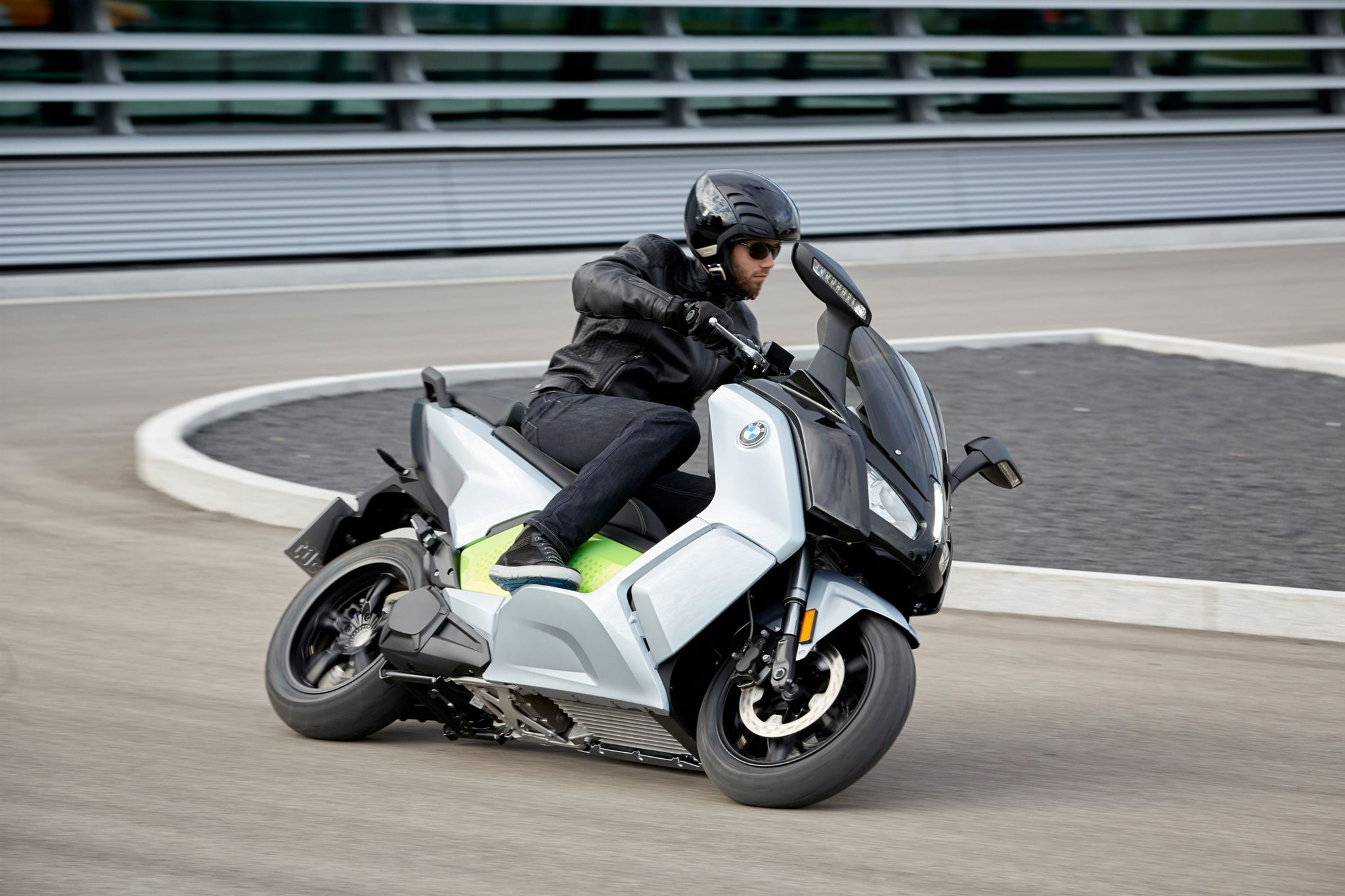 Neuer BMW C evolution 2017 Foto