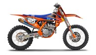 Replicas der Werksteam-Motocrosser