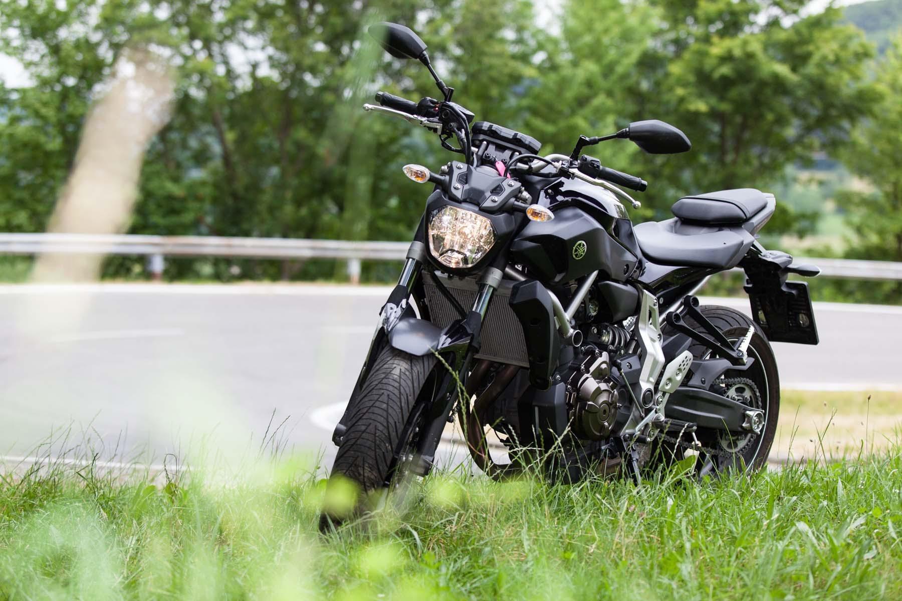 motorrad news yamaha mt 07 tuning tipps fahrwerk