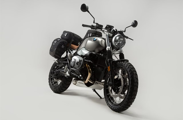 motorrad news sw motech premium zubeh r f r bmw r ninet. Black Bedroom Furniture Sets. Home Design Ideas