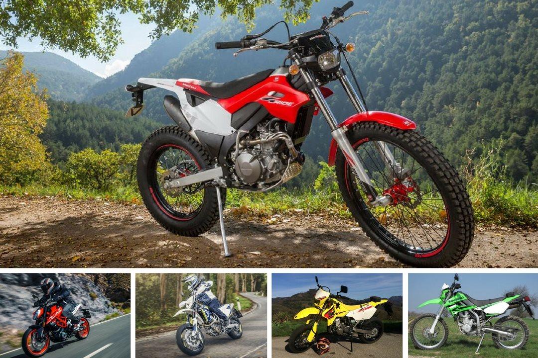 Leichtes Motorrad Kreuzworträtsel