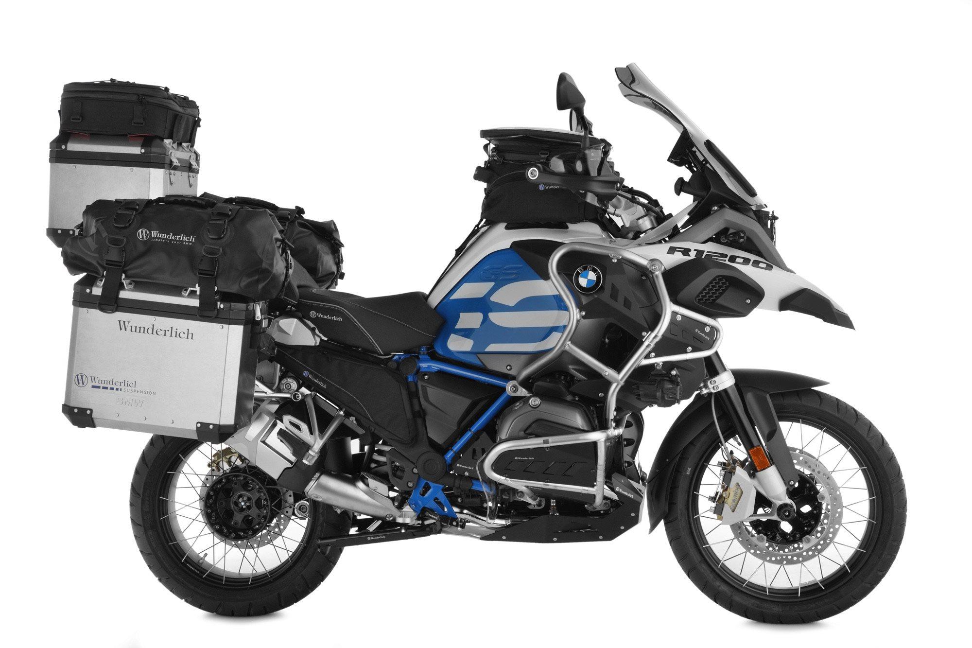 bmw r 1200 gs adventure zubeh r von wunderlich motorrad news. Black Bedroom Furniture Sets. Home Design Ideas
