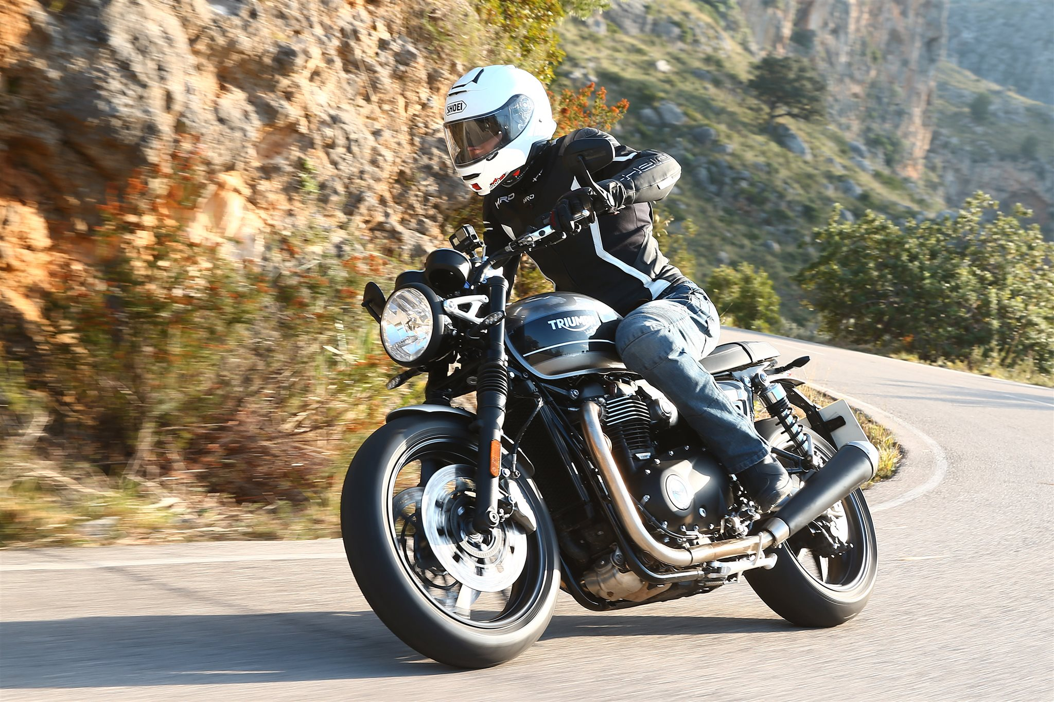 triumph speed twin 1200 2019 test auf mallorca testbericht. Black Bedroom Furniture Sets. Home Design Ideas