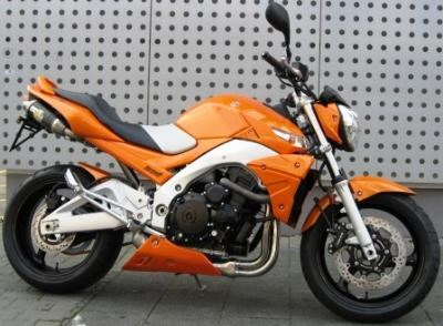 Suzuki GSR 600 California-Orange Edition