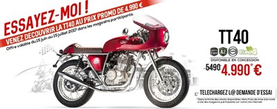 Mash Cafe Racer TT40 ABS -Top Aktion ab 15.07.!