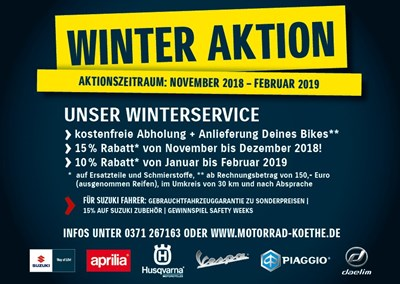 Winter-Aktion