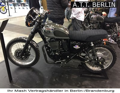 Mash Scrambler & Five Hundred für 2018!