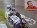 Freddie Spencer gibt beim Oldtimer GP Schwanenstadt 1000PS ein Interview