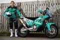 Lyndon Poskitt nimmt mit einer Motorex KTM 450 an der Dakar Teil