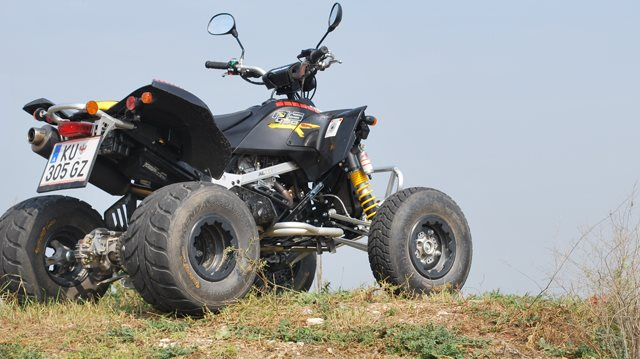 Can Am 450 DS Foto