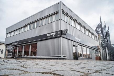 Triumph Flagshipstore Hamburg