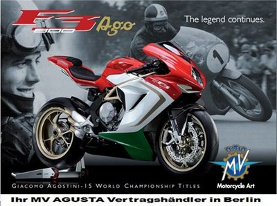 MV Agusta F3 800 AGO in Kürze live bei uns!