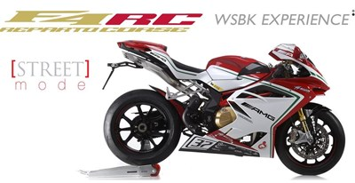 MV Agusta Superbike F4 RC - Limitedmodell!