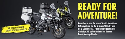 1. April Suzuki Bikers Day u. Saisonstart