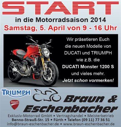 Saisonstart 05.April 2014