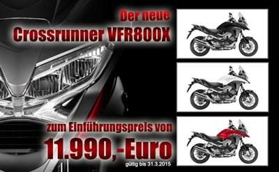 Der neue Crossrunner VFR800X