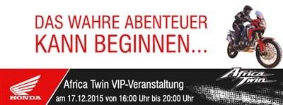 Africa Twin VIP Veranstaltung