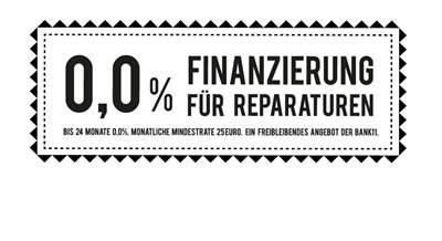 0% Finanzierung für Reparaturen!