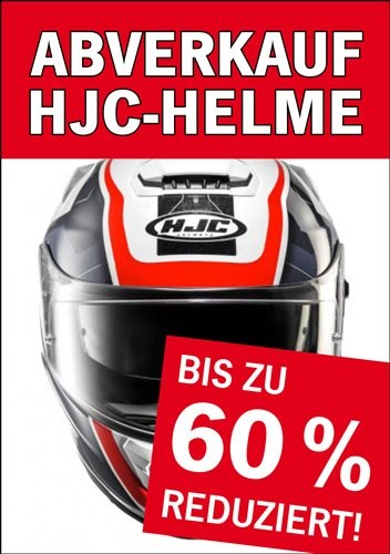 Abverkauf HJC-Helme!