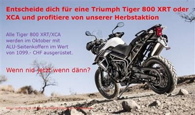 Mäge Motos GmbH-News: Herbstaktion