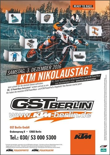 KTM GST Nikolaustag Sa.03.12.16