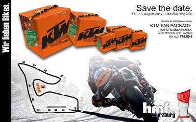 KTM MotoGP Fan Package - jetzt vorbestellen