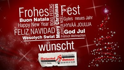 **** Frohes Fest ****